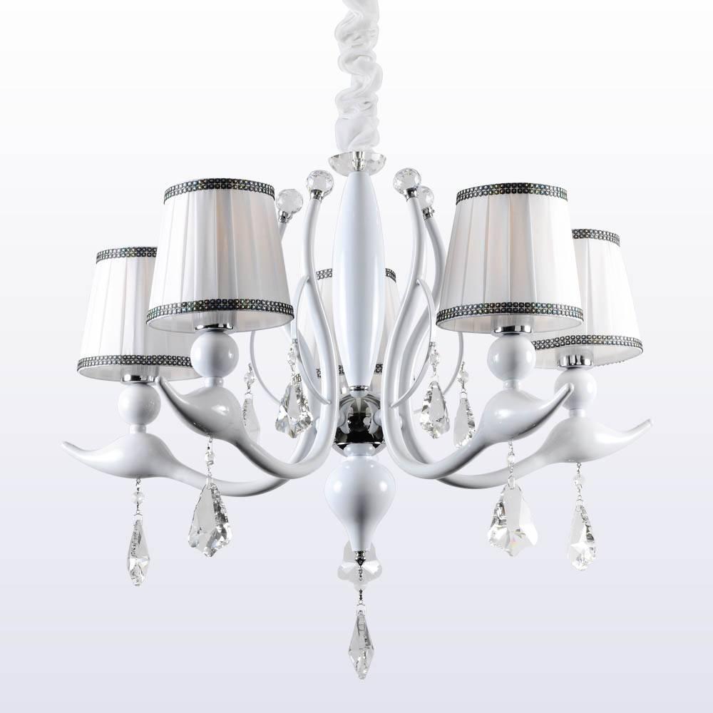 Потолочная люстра Crystal Lux Flamingo SP-PL5 White